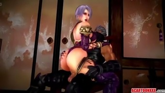 great boobs three dimensions damsel fucked by various toons