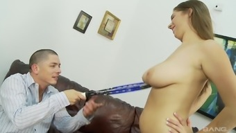 Stunning Alex Risk ultimately direct to get a delightful cock