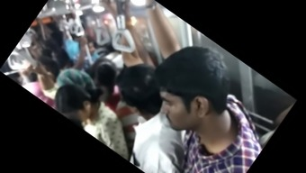 Large ass love incredible groping in Chennai bus. May not MISS