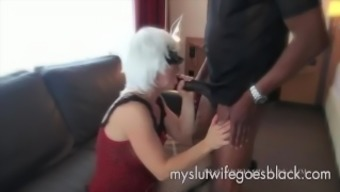 white colored wifey Alexia Thomas first visit great black cock to really feed