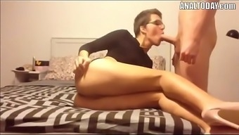 Anus Sex Along with Small Haired Attractive German born Girl