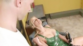 Dominatrix Secures a Supply Mankind Internee