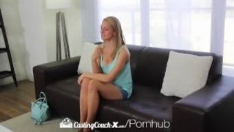 CastingCouch-X - Beginner Alli Rae begs for getting a chaotic body