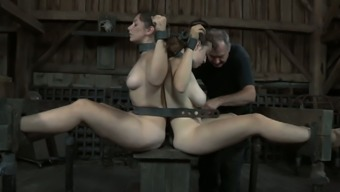 Dixon Mason and her partner are chained together