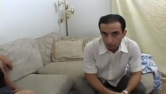 Partner Wrist watches His Wife Fucked For Cash