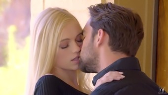 Libidinous skinny blonde Alex Grey gets her pussy liked and fucked
