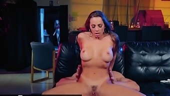 Digital Playground - Biker babe Abigail Mac gets face fucked and facialed