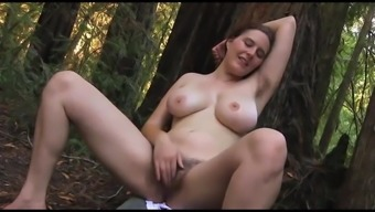 Hairy Beauty in the Woods