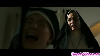 Sinful mothersuperior licking nuns cunt