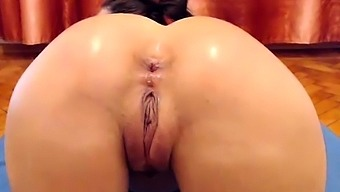 Anal passage looking alone bitch uses dollhouse